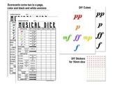 Yahtzee -inspired Musical Dice Game (Dynamics)