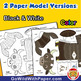 Yak Craft Activity   3D Paper Model