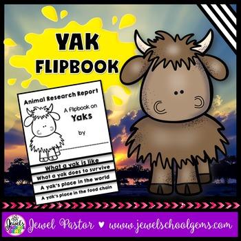 Yak Science Activities (Yak Research Flipbook)