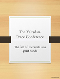 Yalta and Potsdam = Yaltsdam Conference where the students