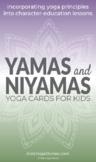 Yamas and Niyamas Yoga Cards for Kids