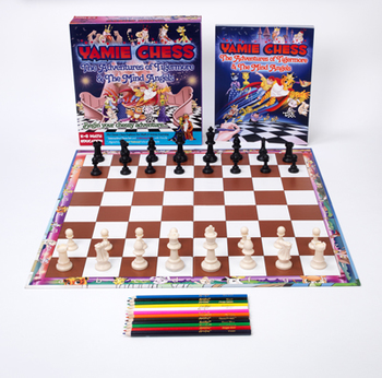 Yamie Chess School Assistant - K-8 Supplemental Math Learning Toy
