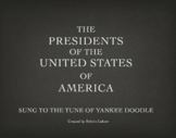 Chronological Yankee Doodle Presidents of the USA UPDATED!