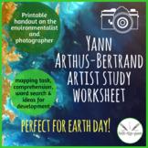 Yann Arthus-Bertrand artist study worksheet