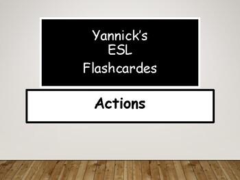 Yannick's ESL Flashcards: Actions (verbs/gerunds)