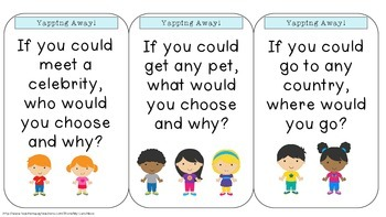 Yapping Away! Conversation Starters For Kids