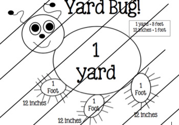 Yard Bug (Measurement) Anchor Chart