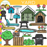 Yard Clip Art {Parts of a House}