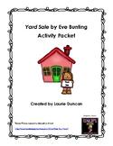 Yard Sale Activity Pack
