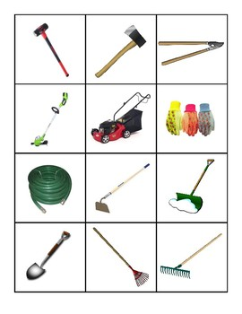 Yard Tools Flashcards
