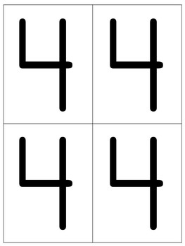 Letters, Numbers, and Shapes
