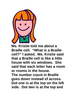 Yasmine Learns Braille