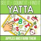 Yatta-Numbers and Counting for September Apples and Farm Theme