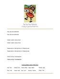Yaw, Yaw Puka Polleracha - Free Lyric Sheet (Song In Quechua)