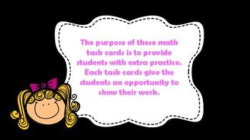Yay! Math Task Cards