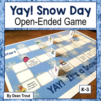 Open Ended Reinforcement Board Game: Yay, Snow Day!