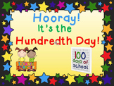 Hooray! The Hundredth Day of School!  PowerPoint Presentation FREEBIE!