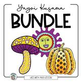 Yayoi Kusama  Art Lesson BUNDLE with Pumpkins, Mushrooms &