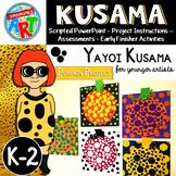 Yayoi Kusama Pumpkin Project for Younger Artists