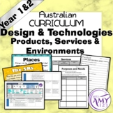 Year 1 & 2 Design & Technologies Products, Services & Environment Unit