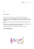 Year 1/2 Science Assignment on Sound
