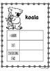 Year 1/2 Science Local Habitat Workbook and Class Activities