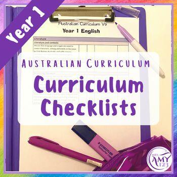 Year 1 Australian Curriculum Checklists