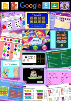 Year 1 Addition and Subtraction Smart Notebook and Unit of Work Bundle 2