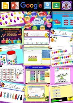 Year 1 Addition and Subtraction Smart Notebook and Unit of Work Bundle 4