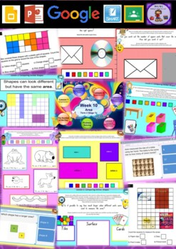 Year 1 Area Smart Notebook and Unit of Work Bundle 1