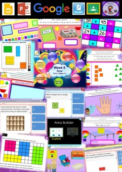 Year 1 Area Smart Notebook and Unit of Work Bundle 2