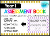 Year 1 Assessment Book - EDITABLE
