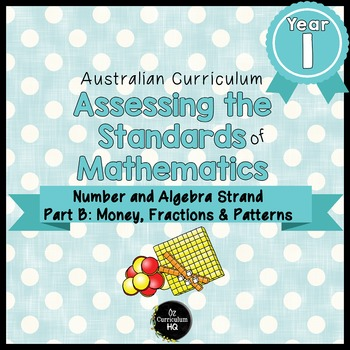 Year 1 Australian Curriculum Maths Assessment Part B Fract