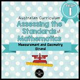 Year 1 Australian Curriculum Maths Assessment Measurement