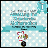 Year 1 Australian Curriculum Maths Assessment Statistics and Probability