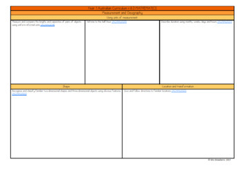 Year 1 Australian Curriculum Planning Templates: Mathematics - EDITABLE