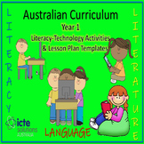 Year 1 Australian Curriculum aligned Literacy with ICT Act
