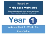 Year 1 - Autumn Block 1 - Weeks 1-4 - Place Value - White