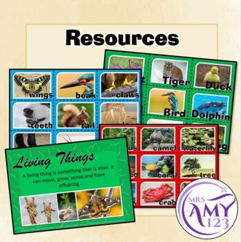 Year 1 -Biological Science- Features of Living Things- Australian Curriculum