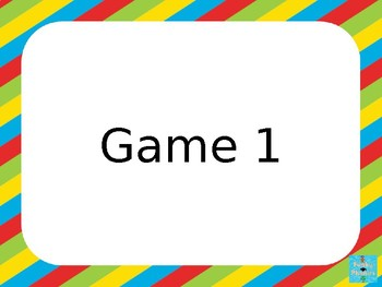 Year 1 Common Exception Words - Kym's Game