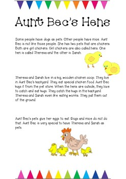 Year 1 Comprehension Texts and Questions