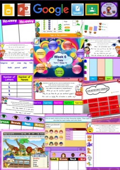 Year 1 Data Smart Notebook and Unit of Work Bundle 1