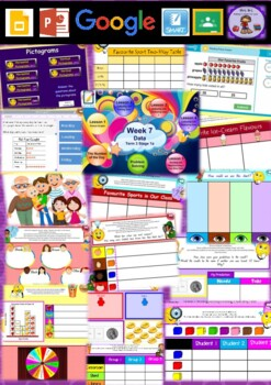 Year 1 Data Smart Notebook and Unit of Work Bundle 2