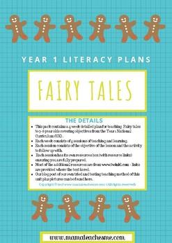 Year 1 Fairy Tale Theme Literacy Unit - 4 week plan