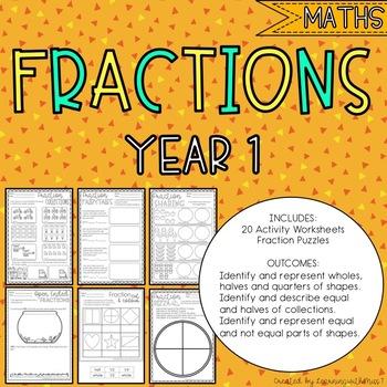 Year 1 Fractions - Australian Curriculum