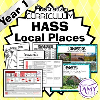 Year 1 HASS Local Places - Geography