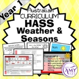 Year 1 HASS Seasons and Weather Unit- Geography