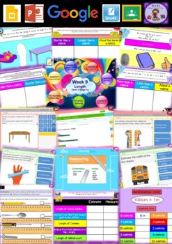 Year 1 Length Smart Notebook and Unit of Work Bundle 2