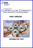 Year 1 Literacy - Informative Text (Lesson Plan)