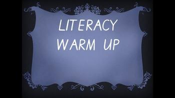 Year 1 Literacy Warmup Term 1 Week 5